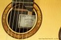 Sergei de Jonge Classical Guitar 2010 label