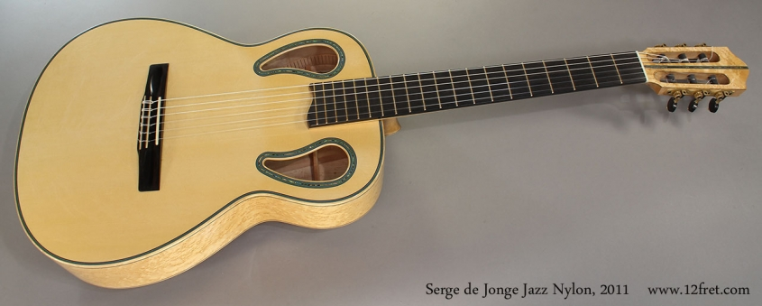 Serge de Jonge Jazz Nylon, 2011 Full Front View