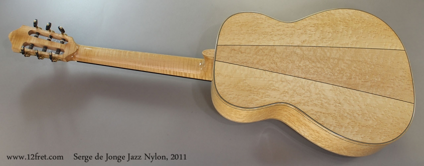 Serge de Jonge Jazz Nylon, 2011 Full Rear View