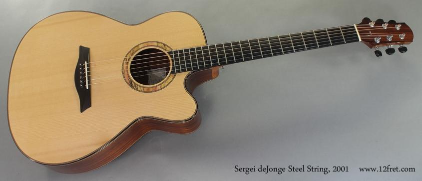 Sergei deJonge Steel String 2001 full front view