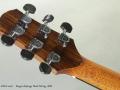 Sergei deJonge Steel String 2001 head rear