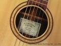 Sergei de Jonge Brazilian Steel String 2006 label