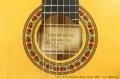 Lester DeVoe Flamenco Blanca Guitar, 2000  Label and Rosette