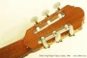 Dieter Hopf Super Classic Guitar 1992 head rear