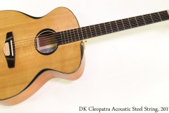 DK Cleopatra Acoustic Steel String, 2017 Full Front View