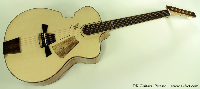 DK Guitars Picasso full front view