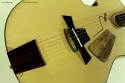 DK Guitars Picasso bridge detail