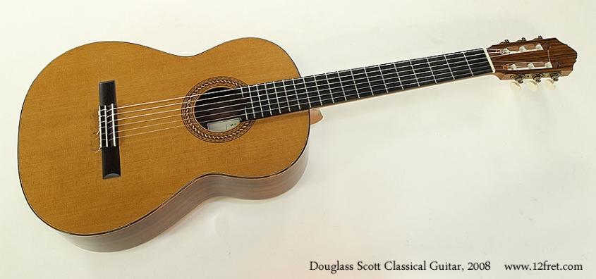 Douglass Scott Classical Guitar, 2008 Full Front View