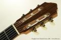 Douglass Scott Classical Guitar, 2008 Head Front View