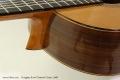 Douglass Scott Classical Guitar, 2008 Heel View