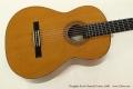 Douglass Scott Classical Guitar, 2008 Top View