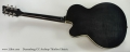 Duesenberg CC Archtop Thinline Electric Full Rear View