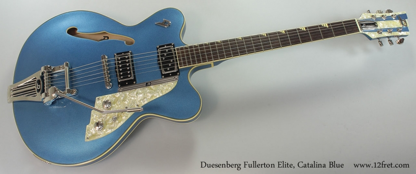 Duesenberg Fullerton Elite, Catalina Blue Full Front View