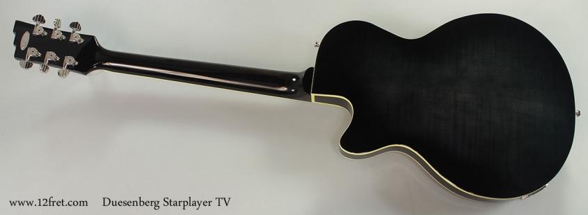 Duesenberg Starplayer TV Full Rear View