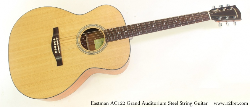 Eastman AC122 Grand Auditorium Steel String Guitar Full Front View