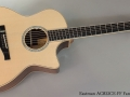 Eastman AC822CE-FF Fan Fret Full Front View
