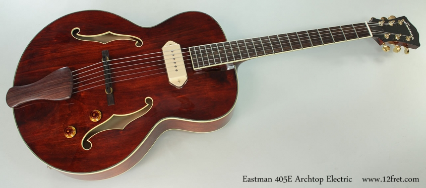 Eastman 405E Archtop Electric Full Front View