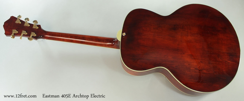 Eastman 405E Archtop Electric Full Rear View