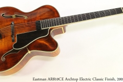 Eastman AR810CE Archtop Electric Classic Finish, 2005 Full Front View