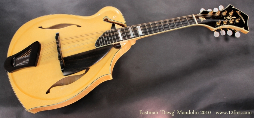 Eastman Dawg Mandolin 2010 full front view