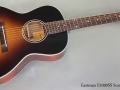 Eastman E1000SS Sunburst Steel String full front view