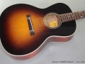 Eastman E1000SS Sunburst Steel String  top
