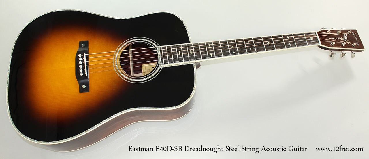 eastman e40d sb dreadnought. Black Bedroom Furniture Sets. Home Design Ideas