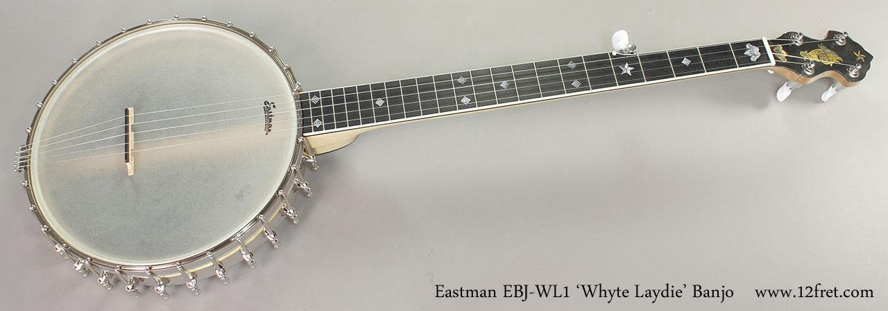 Eastman EBJ-WL1 'Whyte Laydie' Banjo Full Rear View