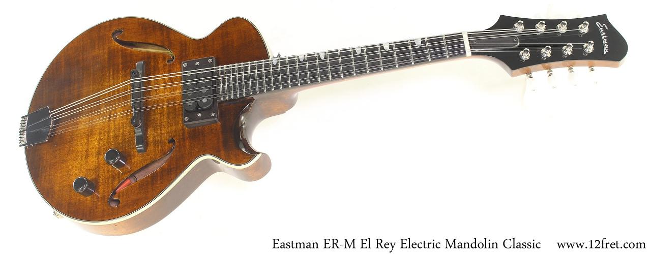 Eastman ER-M El Rey Electric Mandolin Classic Full Front View