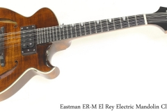 Eastman ER-M El Rey Electric Mandolin Classic Full Front View