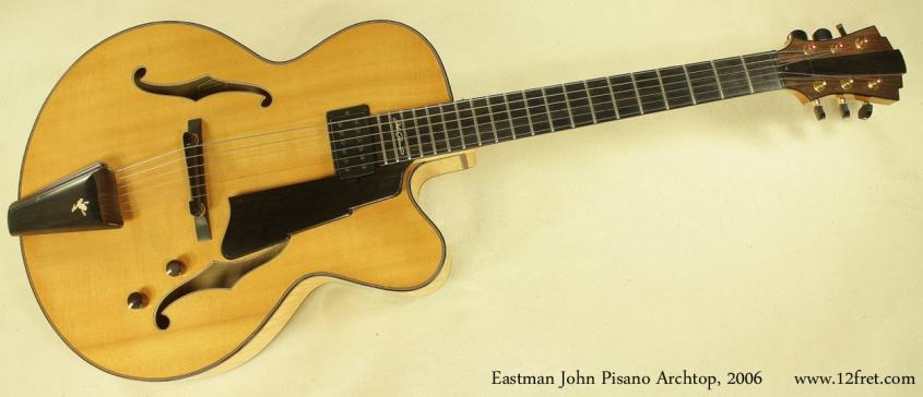Eastman John Pisano archtop 2006 full front