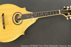 Eastman MD904D Two Point Mandolin Natural, 2010 Full Front View