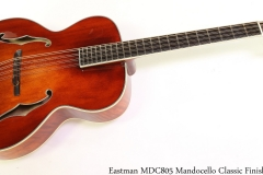Eastman MDC805 Mandocello Classic Finish Full Front View