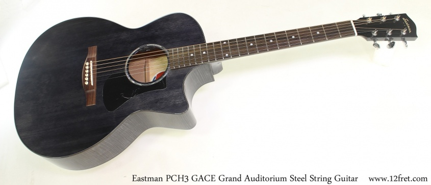 Eastman PCH3 GACE Grand Auditorium Steel String Guitar Full Front View