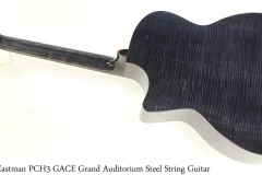 Eastman PCH3 GACE Grand Auditorium Steel String Guitar Full Rear View