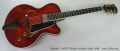 Eastman T-145SX Thinline Archtop Guitar, 2009 Full Front View