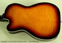 Eastwood Airline Tuxedo Sunburst 2011 back