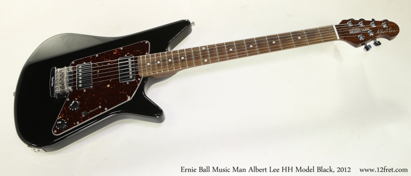 Ernie Ball Music Man Albert Lee HH Model Black, 2012   Full Front View