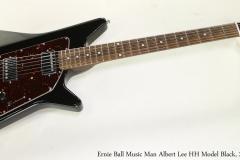 Ernie Ball Music Man Albert Lee HH Model Black, 2012   Full Front View