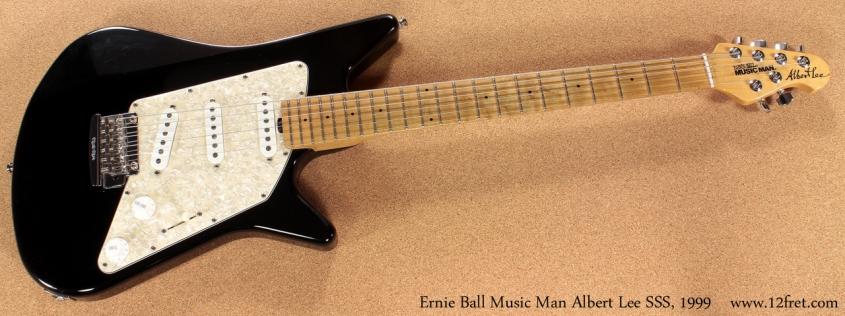 Ernie Ball Music Man Albert Lee SSS 1999 full front view