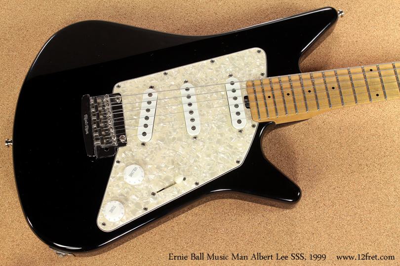 Ernie Ball Music Man Albert Lee SSS 1999 top