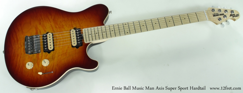 Ernie Ball Music Man Axis Super Sport Hardtail full front view