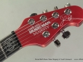 Ernie Ball Music Man Majesty 6 Iced Crimson head front