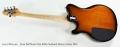 Ernie Ball Music Man Reflex Sunburst Electric Guitar, 2016 Full Rear View