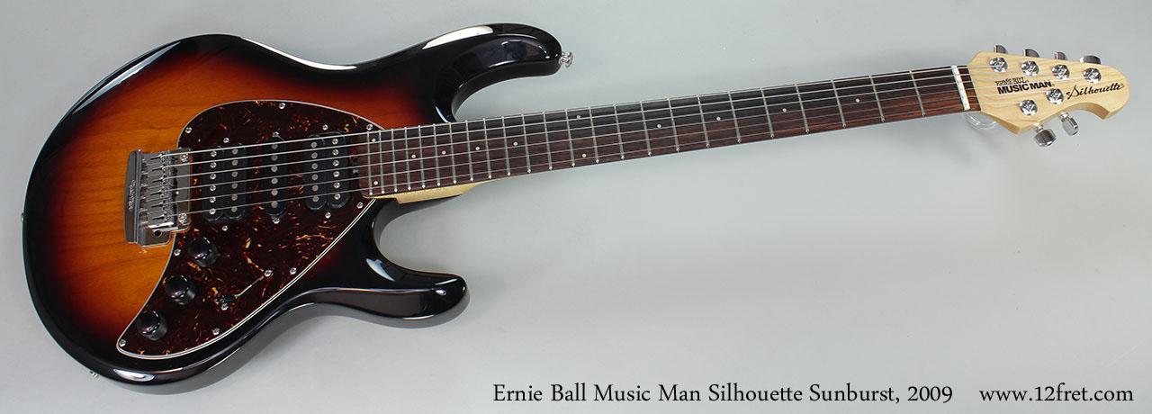 Ernie Ball Silhouette : 2009 ernie ball music man silhouette sunburst ~ Russianpoet.info Haus und Dekorationen