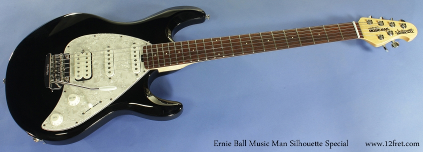 Ernie Ball Music Man Silhouette Special full front view