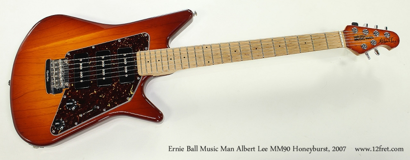 Ernie Ball Music Man Albert Lee MM90 Honeyburst, 2007 Full Front View