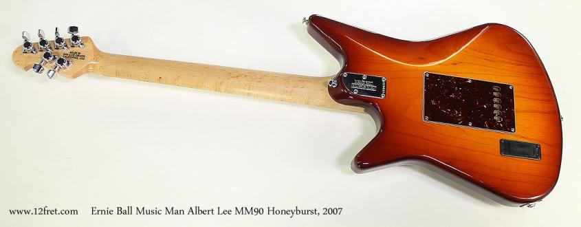 Ernie Ball Music Man Albert Lee MM90 Honeyburst, 2007 Full Rear View