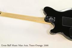 Ernie Ball Music Man Axis, Trans Orange, 2006   Full Rear View