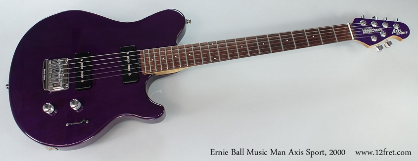 Ernie Ball Music Man Axis Sport, 2000 Full Front VIew